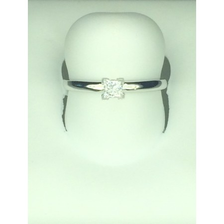 New solitaire ring 0.19 ct