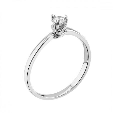 14K Engagement ring 1.70 gr 0.20 ct