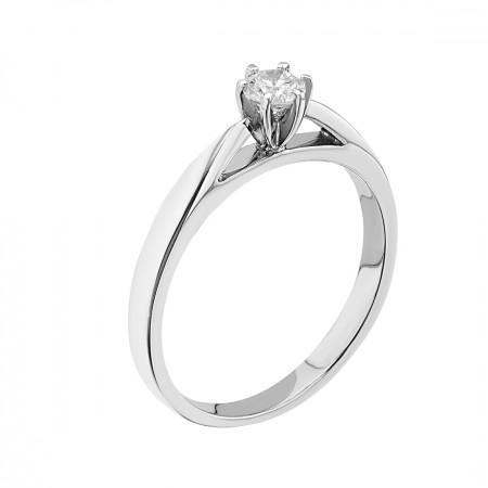 14K Engagement ring 0.23 ct