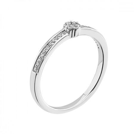Engagement ring 14K 2.18 gr